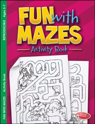 Fun With Mazes Activity Book (Pack Of 6)