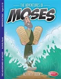 Adventures Of Moses Activity Book (Pack Of 6)