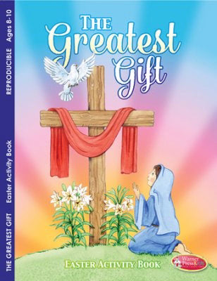 Greatest Gift Easter Activity Book (Pack Of 6)