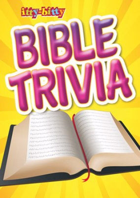 Itty-Bitty Bible Trivia (Pack Of 6)