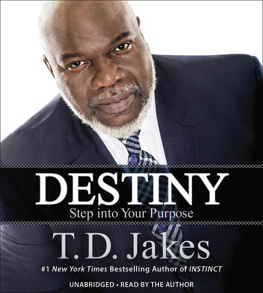 Audiobook-Audio CD-Destiny: Step Into Your Purpose (Unabridged) (Replay)