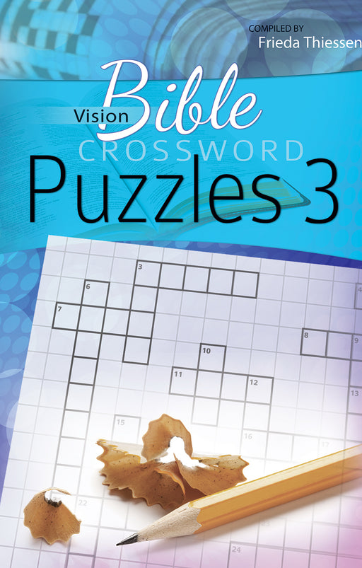 Vision Bible Crossword Puzzles #3