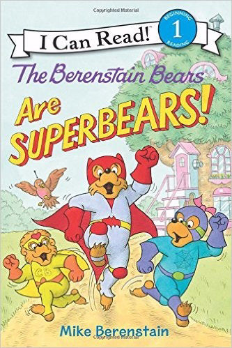 Berenstain Bears Are Superbears! (I Can Read Books: Level 1)