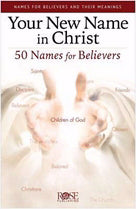 Your New Name In Christ Pamphlet (Pack Of 5)