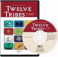 Software-Twelve Tribes Of Israel PowerPoint