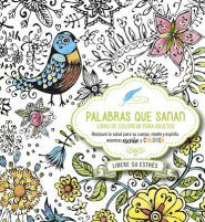 Span-Healing Word Adult Coloring Book & Prayer Journal (Palabras Que Sanan-Diario De Oracion Y Libro De)