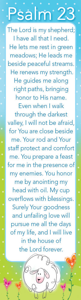 Psalm 23 - 10 pack Bookmarks