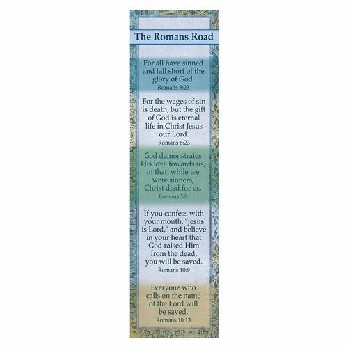 """The Romans Road"" Bookmarks"