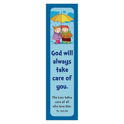 """Lord Takes Care"" ""Blue"" Bookmarks"