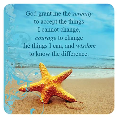 """Serenity Prayer"" Magnet"