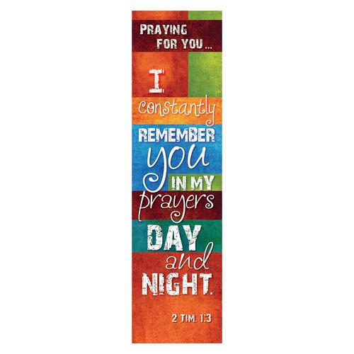 """2 Timothy 1:3"" Bookmarks"