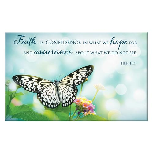 """Faith is Confidence"" Magnet"