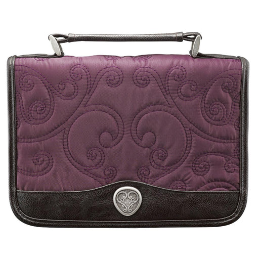 Quilted Micro-Fiber Purple Lg