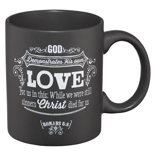 """Chalkboard Collection: Love"" Stoneware Mug"