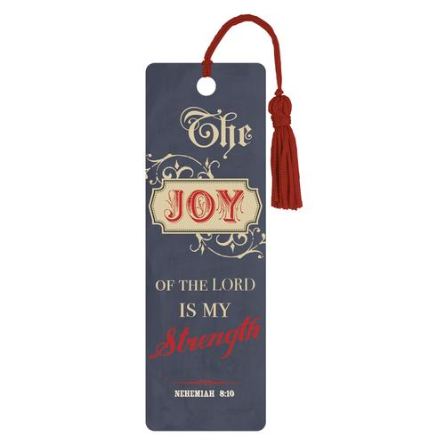 """Joy"" (Blue) PVC Bookmark"