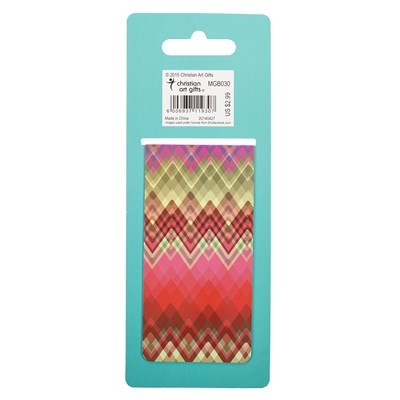"""Chic Chevron"" Large Magnetic Pagemarker"