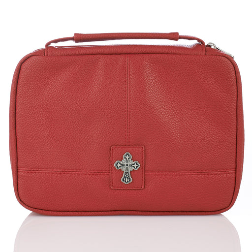 BC Two-Fold Organizer w Cross Red Md