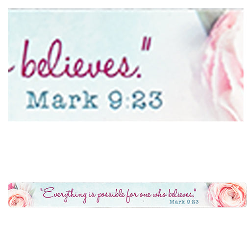 Everything is Possible Magnetic Strip - Mark 9:23