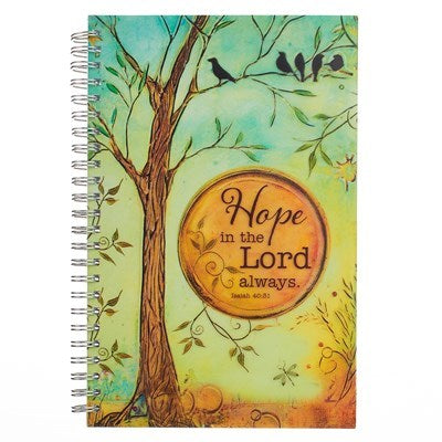 Hope in the Lord Wirebound Journal - Isa 40:31