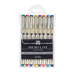 Micro-Line Color Pens Veritas 8/set