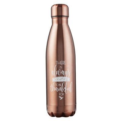 Grateful Bronze Stainless Steel Water Bottle