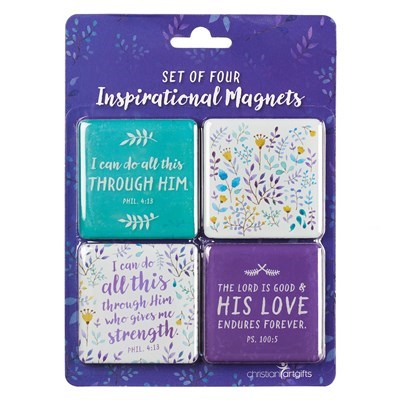 I Can Do All This Magnet Set - Philippians  4:13