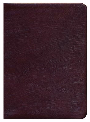 ESV Thompson Chain-Reference Bible-Burgundy Genuine Leather