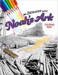 Encounter With Noah's Ark Adult Coloring Book