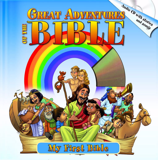 Great Adventures Of The Bible w/CD