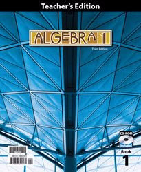 Algebra 1 Teacher's Edition w/CD (3rd Edition)