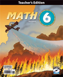 Math 6 Teacher's Edition w/CD (3rd Edition)