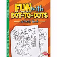 Fun With Dot-To-Dots Coloring Activity Book (Pack Of 6)