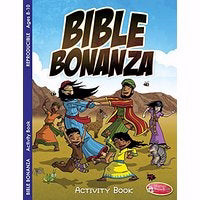 Bible Bonanza Activity Book (Pack Of 6)