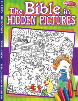 Bible In Hidden Pictures Activity Book (Ages 8-10)