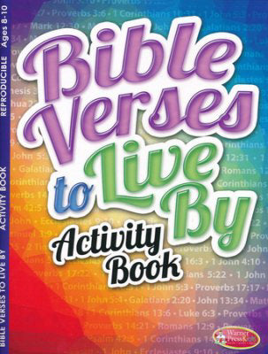 Bible Verses To Live By Coloring Book (Ages 8-10)