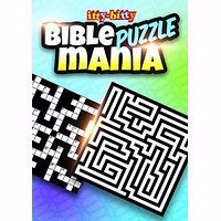 Itty-Bitty Bible Puzzle Mania Activity Book (Pack Of 6)