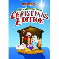 Itty-Bitty Bible Activity Book-Christmas Edition (Pack Of 6)