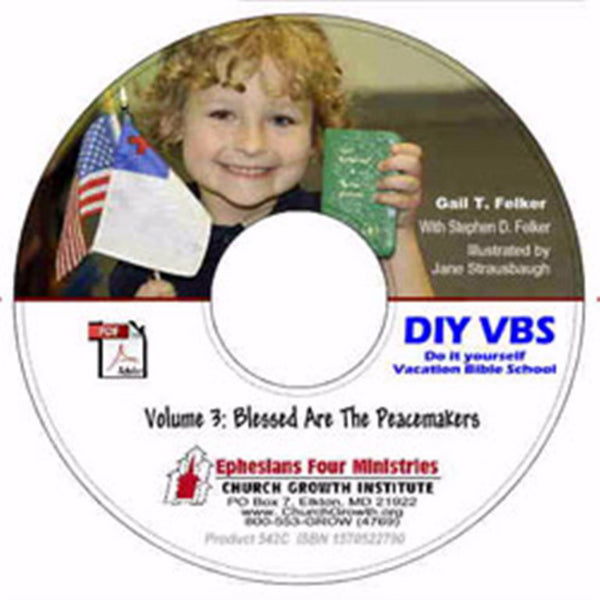 DIY VBS Volume 3: Blessed Are the Peacemakers CD