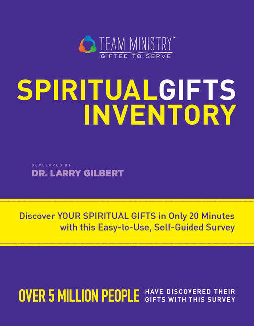 Team Ministry Spiritual Gifts Inventory (Adult)