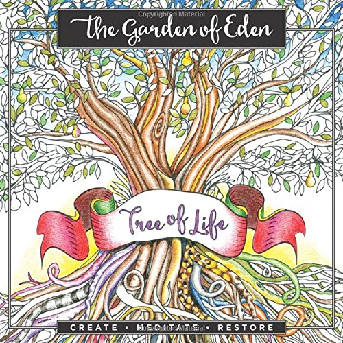 Garden Of Eden: An Adult Coloring Book