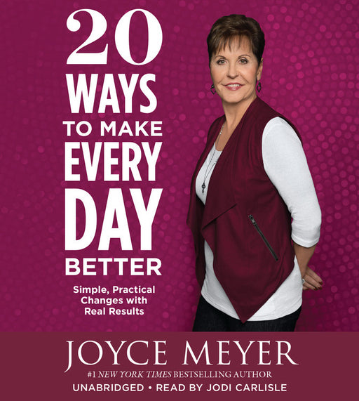 Audiobook-Audio CD-20 Ways To Make Every Day Better (Unabridged) (5 CD)