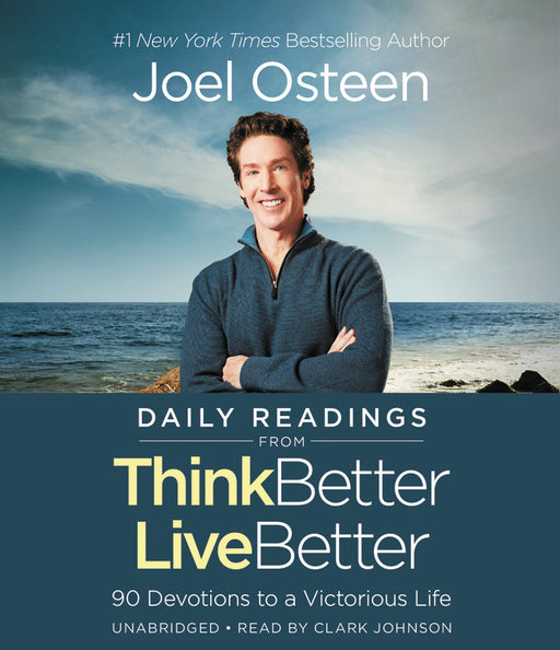 Audiobook-Audio CD-Daily Readings From Think Better  Live Better (Unabridged)