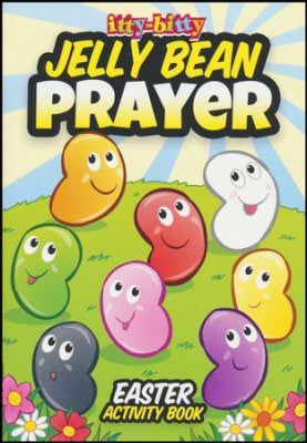 Itty-Bitty Jelly Bean Prayer Activity Book (Pack Of 6)