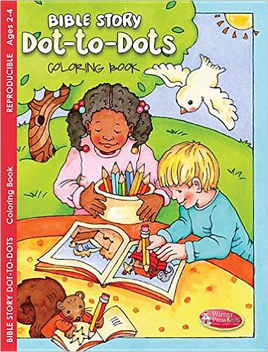 Bible Story Dot-To-Dots Coloring Book (Pack Of 6)