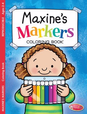 Maxine's Markers Coloring Book (Pack Of 6)