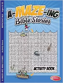 A-Maze-Ing Bible Stories Activity Book (Pack Of 6)