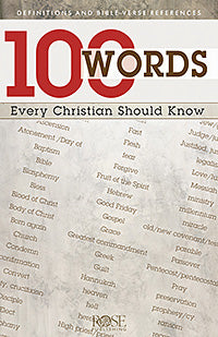 100 Words Every Christian Should Know Pamphlet (Single)
