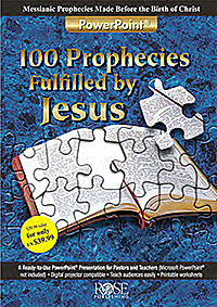 Software-100 Prophecies Fulfilled By Jesus PowerPoint