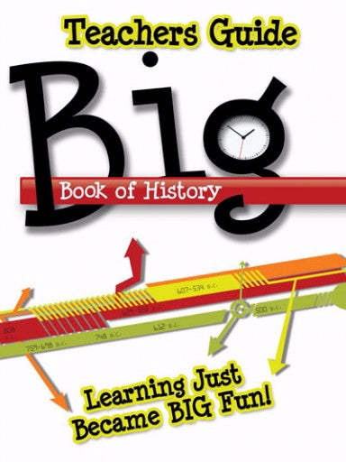 Chart-Big Book Of History Teacher Guide