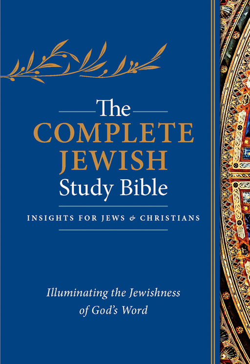 Complete Jewish Study Bible-Blue Flexisoft Indexed